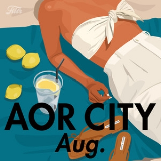 AOR CITY - August, 2019 selected by Naoki Fukuda (from Blue